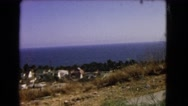 1966: a water area is seen CATALINA, CALIFORNIA Stock Footage