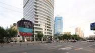 Shanghai,China-September 16,2016:  Businesscenter of Hongkou district,Shanghai Stock Footage