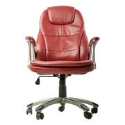 Office chair over isolated white background Stock Photos