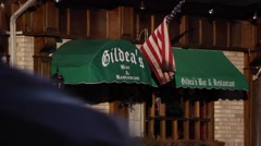 Gildea's Irish pub exterior Stock Footage