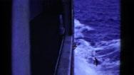 1952: a ship is seen SAN FRANCISCO, CALIFORNIA Stock Footage