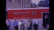 1964: a tourist area is seen RACINE, WISCONSIN Stock Footage