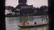 1962: beautiful view on a perfect day BANGKOK Stock Footage