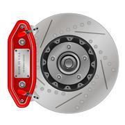 Brake disc with caliper Piirros