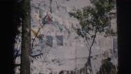 1962: a flag scene CALCUTTA Stock Footage