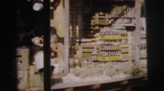1962: a market on a boat area with water all around is seen DARJEELING Stock Footage