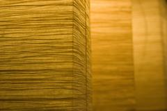 Lamps rice paper Stock Photos