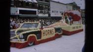 1964: a parade is seen  HARVARD, ILLINOIS Stock Footage