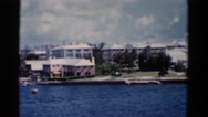 1951: beautiful found recording with personal perspective of the serenity water Stock Footage