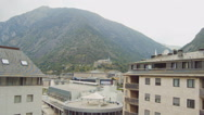 Beautiful Mountain Resort Stock Footage