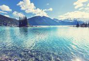 Garibaldi lake Stock Photos