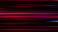 Horizontal pink lines on black background - Motion video loop HD Stock Footage