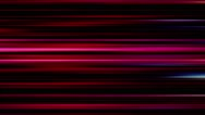 Horizontal pink lines on black background - Motion video loop HD Stock Footage