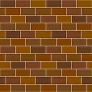 Seamless pattern stack bond or running bond brick tile Stock Illustration
