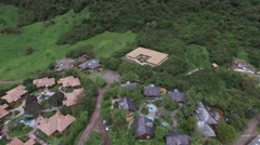 Hot Springs Resort in Ecuador Stock Footage
