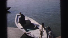 1962: swim your way to success DARJEELING Stock Footage