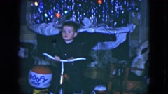 1951: confused ginger toddler evades questions about who farted and smiles. Arkistovideo