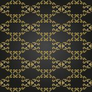 Seamless Vector Baroque Pattern Piirros