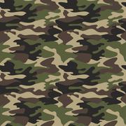 Camouflage pattern background seamless Camo vector illustration Stock Illustration