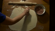 Preparation of the dough Stock Footage