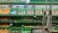 A young woman visiting the store Stock Footage