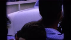 1964: people are getting ready for party in the car CAMDEN NEW JERSEY Stock Footage