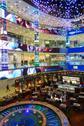 Moscow, Russia - September 19 2016: Interior of luxury Evropejskij mall Stock Photos
