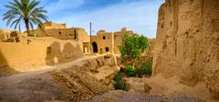 Pise-walled village in Iran Stock Photos