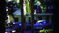 1955: got amazed, how did he appear MIAMI, FLORIDA Stock Footage
