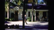 1955: residential area is seen MIAMI, FLORIDA Stock Footage