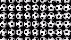 Moving Football Background Stock Footage