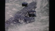 1955: water close up is seen MIAMI, FLORIDA Stock Footage