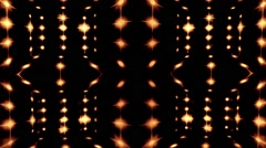 Golden lights video loop Stock Footage