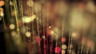 Beautiful light lines with shiny dots - Motion video background loop HD Stock Footage