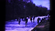 1961: snow playing is seen HAGERSTOWN, MARYLAND Stock Footage