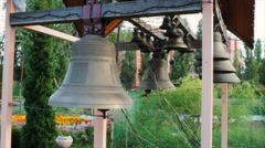 Bells on church bellfry Arkistovideo