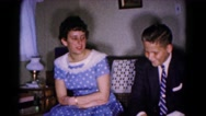 1961: couple is seen walking happily HAGERSTOWN, MARYLAND Stock Footage