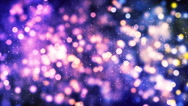 HD Loopable Background with particles and nice bokeh Stock Footage