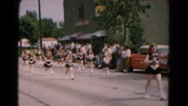 1961: parade is seen HAGERSTOWN, MARYLAND Stock Footage