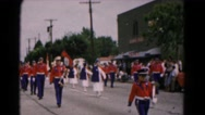 1961: best parade ever! HAGERSTOWN, MARYLAND Stock Footage