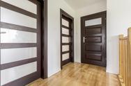 Corridor home design idea Stock Photos