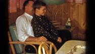 1958: family reunion MINNESOTA Stock Footage