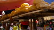 Traditional Egyptian flatbread Stock Footage