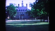 1964: green screen blank test version JAMESTOWN, VIRGINIA Stock Footage