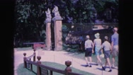 1964: family is going to the excursion JAMESTOWN, VIRGINIA Stock Footage