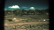 1967: mountain area is seen traveling by road COLORADO Stock Footage