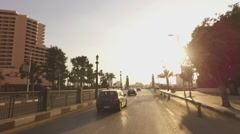 Travel through the streets of Cairo Egypt Stock Footage