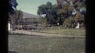 1967: view of the farmlands COLORADO Stock Footage