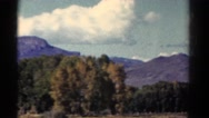 1967: ride in the country COLORADO Stock Footage