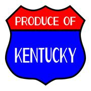 Produce Of Kentucky Piirros